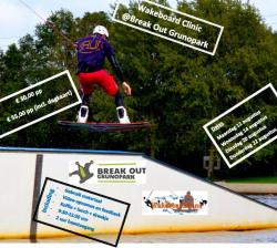 2013 Wakeboard Clinic bij Break Out Grunpark